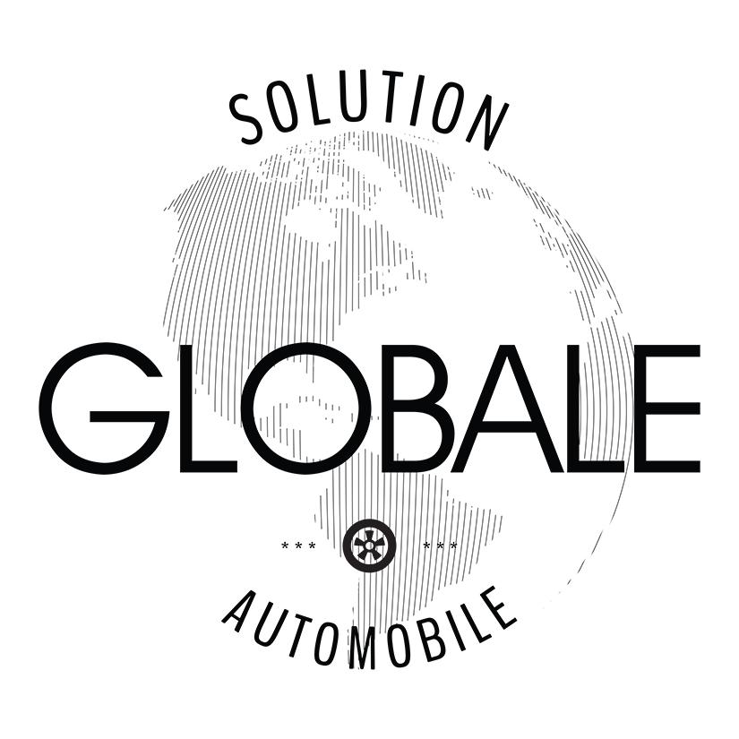 Logo noir Solution Globale Automobile